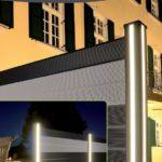 Zaun Beleuchtung Valu-x