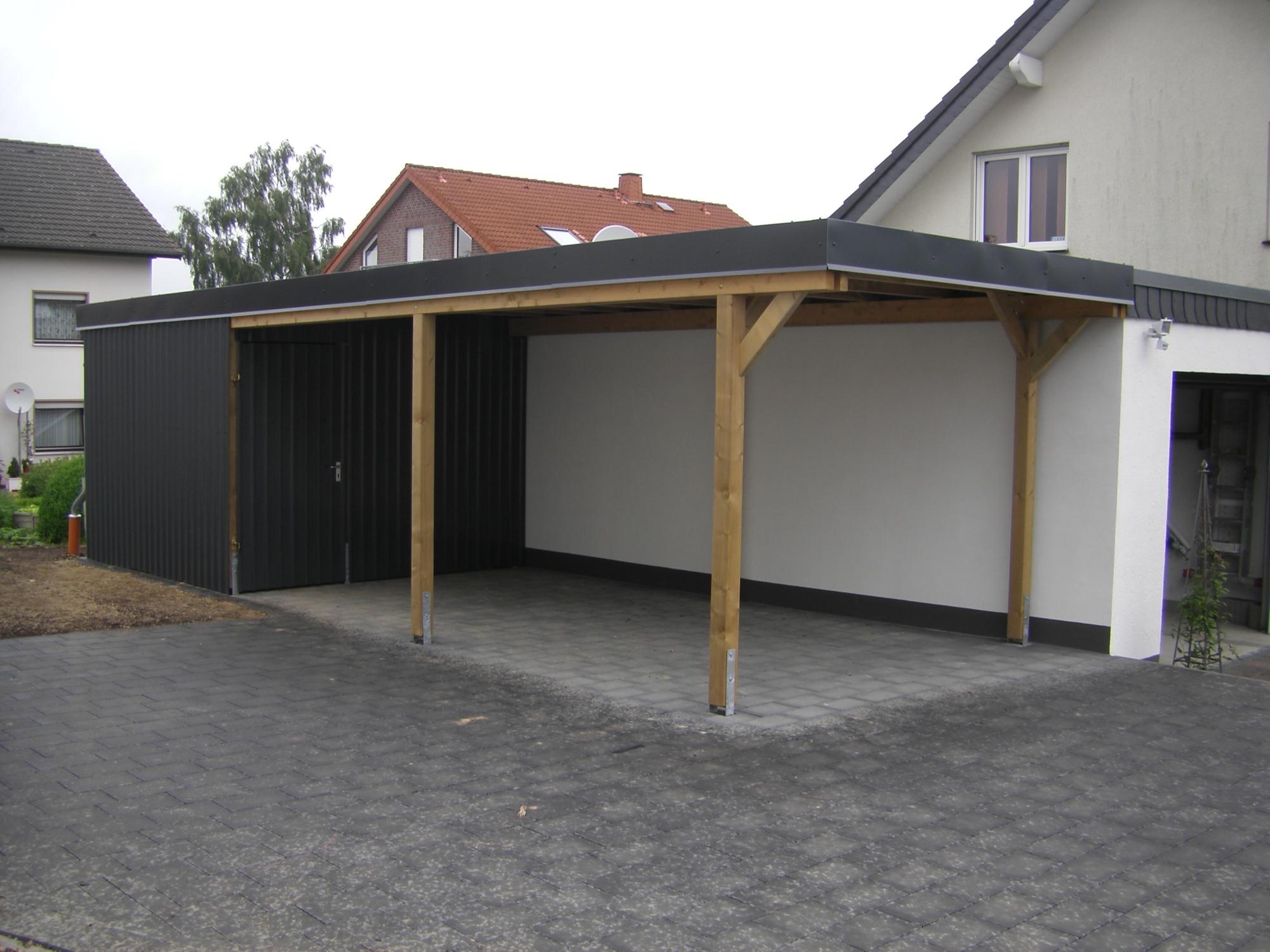 Carports, Bikeports und Abstellräume - SAUERLAND GmbH