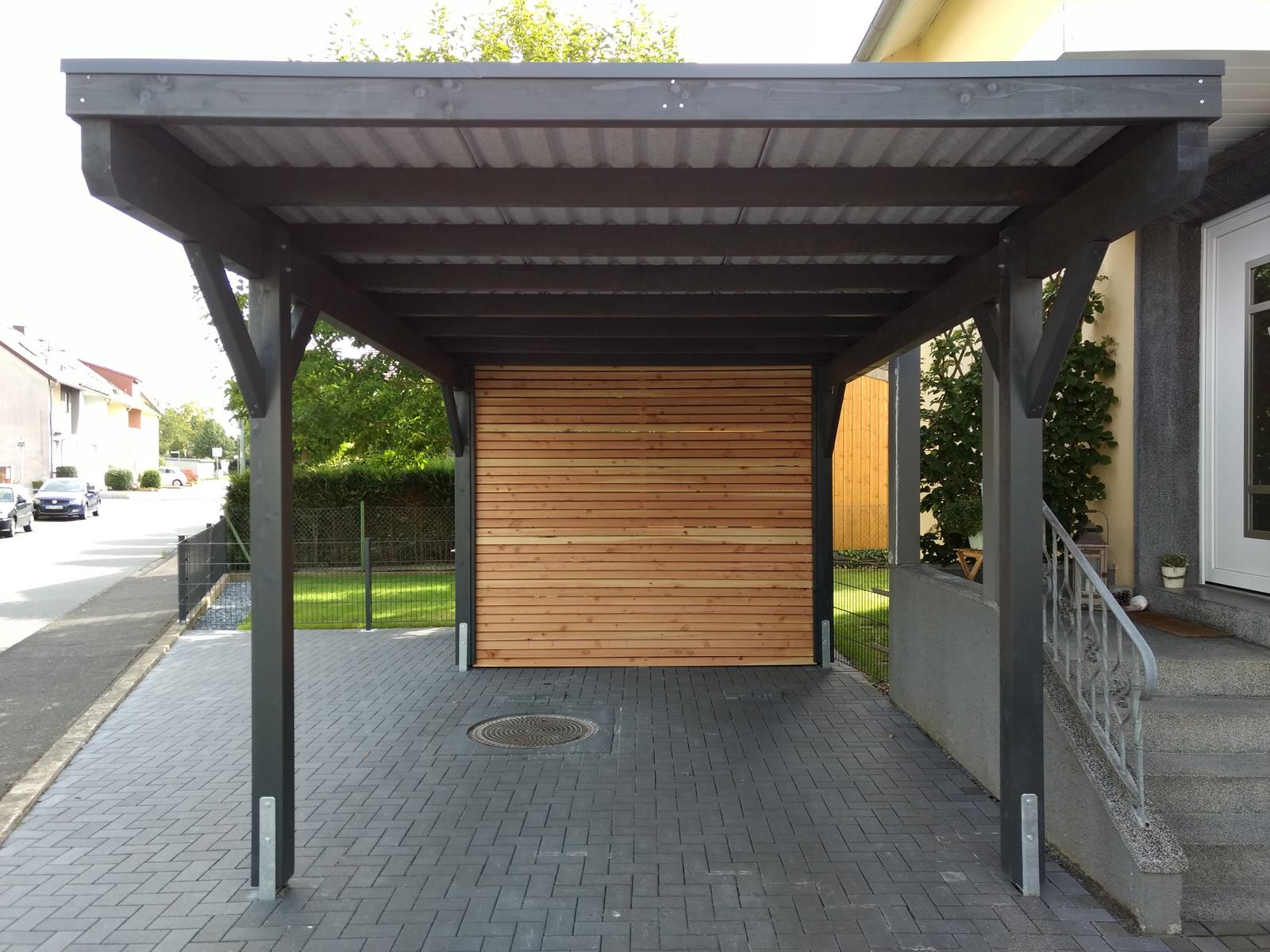 emejing carport mit abstellraum photos. Black Bedroom Furniture Sets. Home Design Ideas