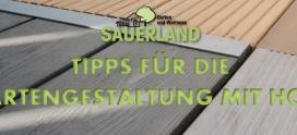 7 Tipps für die Gartengestaltung mit Holz