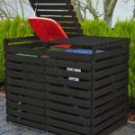 PX-425/13 Mülltonnenbox Vario für 2 Tonnen von Promadino