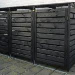 PX-512032 Mülltonnenbox Vario für 3 Tonnen von Promadino