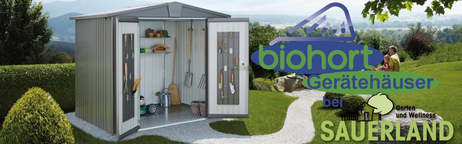 Biohort Gerätehäuser