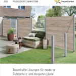 Katalog Traumgarten Pflegeleichte Zaunsysteme 2020